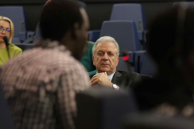 Visit of Dimitris Avramopoulos, Member of the EC, to Strasbourg