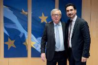 Visit of Guillaume Klossa, Founding President of EuropaNova, to the EC