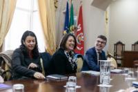 Visite de Violeta Bulc, membre de la CE au Portugal