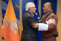 Visite de Tshering Tobgay, Premier ministre bhoutanais, à la CE