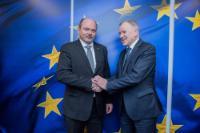 Visite de Jiří Milek, ministre tchèque de l'agriculture, à la CE