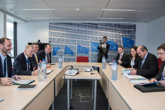 Visit of Jiří Milek, Czech Republic Minister for Agriculture, to the EC