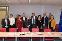 Visit of  a group of Roundtable Meeting of Energy Industrialists CEOs, to the EC