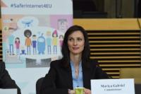 Participation of Mariya Gabriel, Member of the EC, at the High-level meeting with members of the Alliance to Better Protect Minors Online
