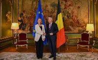 Bilateral meeting between Federica Mogherini, Vice-President of the EC, and Didier Reynders, Belgian Deputy Prime Minister