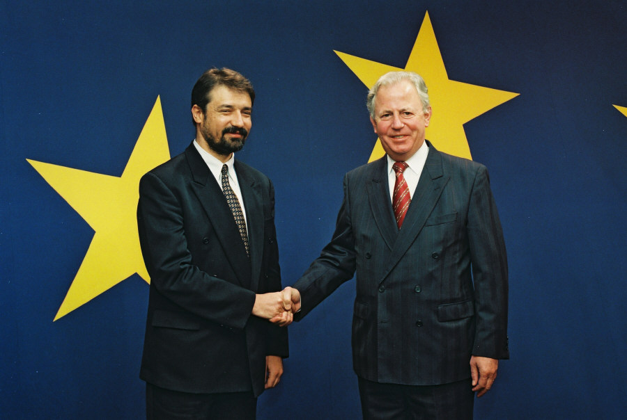 Visit by Branko Crvenkovski, Prime Minister of the former Yugoslav Republic of Macedonia, to the EC