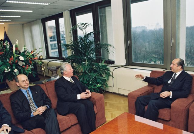 Visit by Thomas Klestil, Federal President of Austria, to the EC