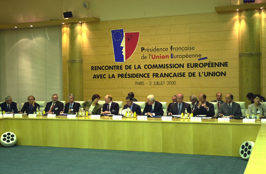 Inaugural meeting between the European Commission College and the French Presidency of the Council