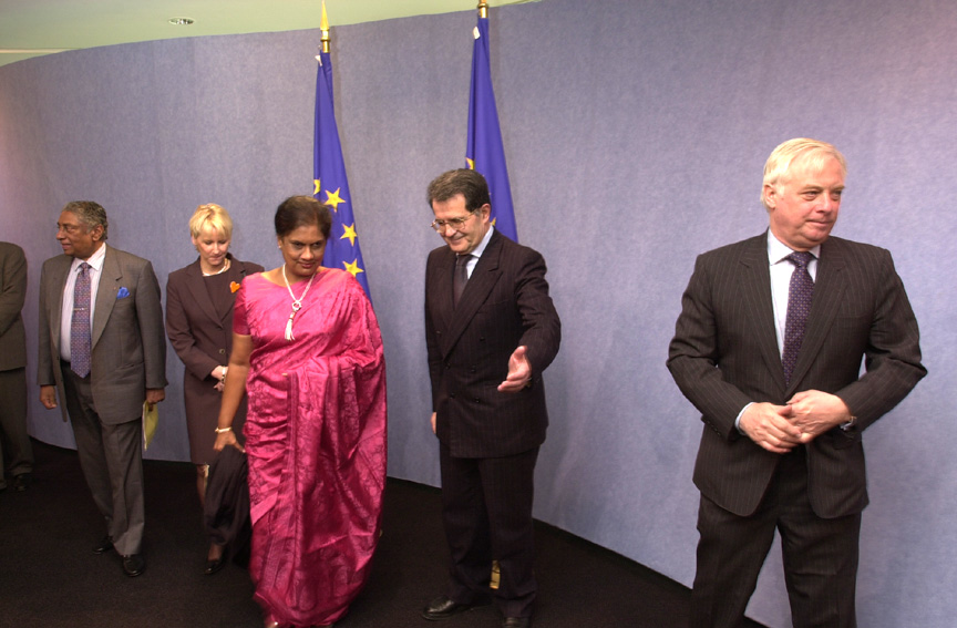Visit of Chandrika Bandaranaike Kumaratunga, President of the Socialist Democratic Republic  of Sri Lanka, to the EC