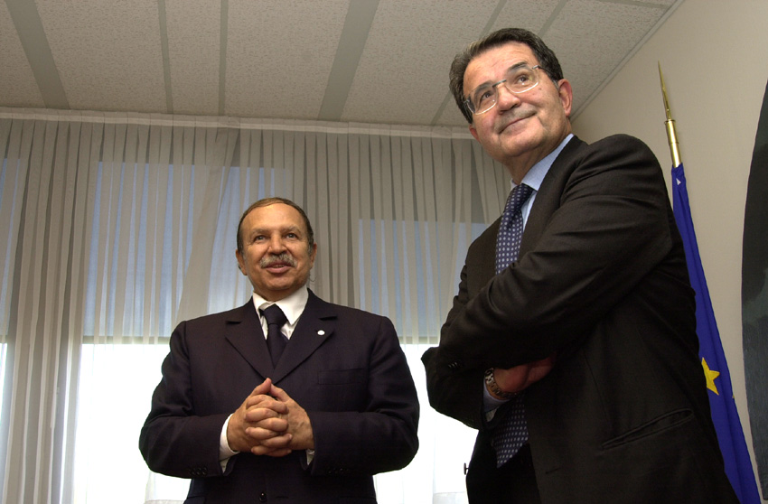 Visit of Abdelaziz Bouteflika, Algerian President, to the EC
