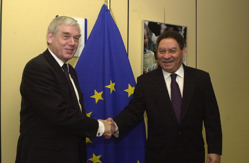 Visit of Fradique Melo Bandiera de Menezes, President of Sao Tome and Principe, to the EC