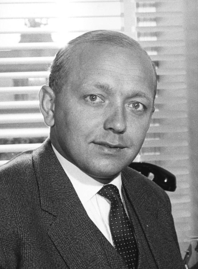 Karl-Heinz Narjes, Deputy Head of Cabinet of Walter Hallstein