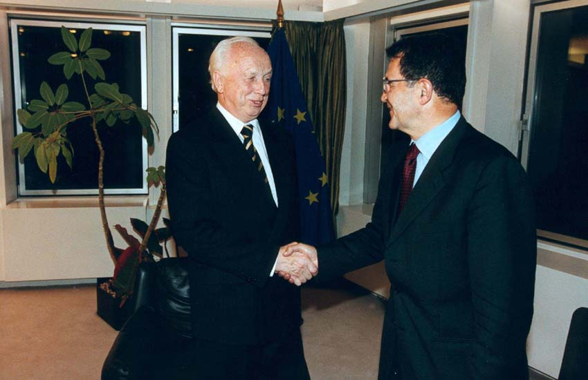 Visit of Ferenc Mádl, President of Hungary, to the EC