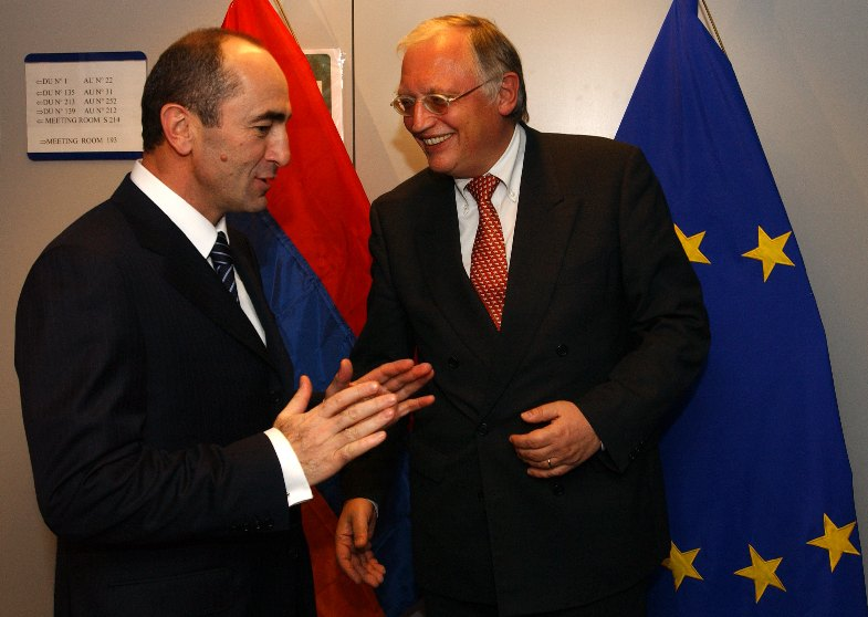 Visit of Robert Kocharyan, President of Armenia, to the EC