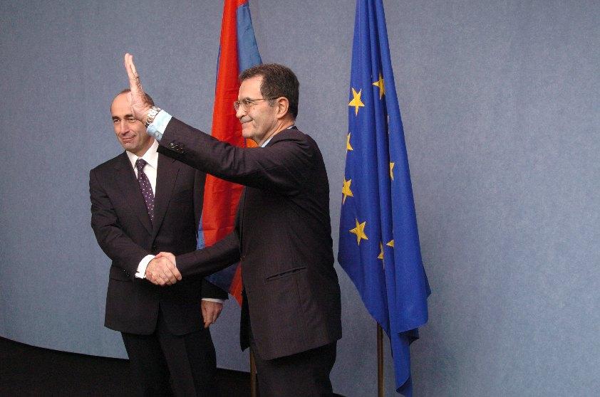 Visit of Robert Kocharyan, President of Armenia, to the EC