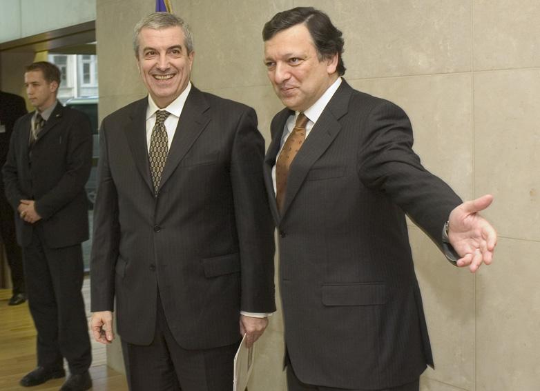 Visit of Călin Popescu-Tăriceanu, Romanian Prime Minister, to the EC