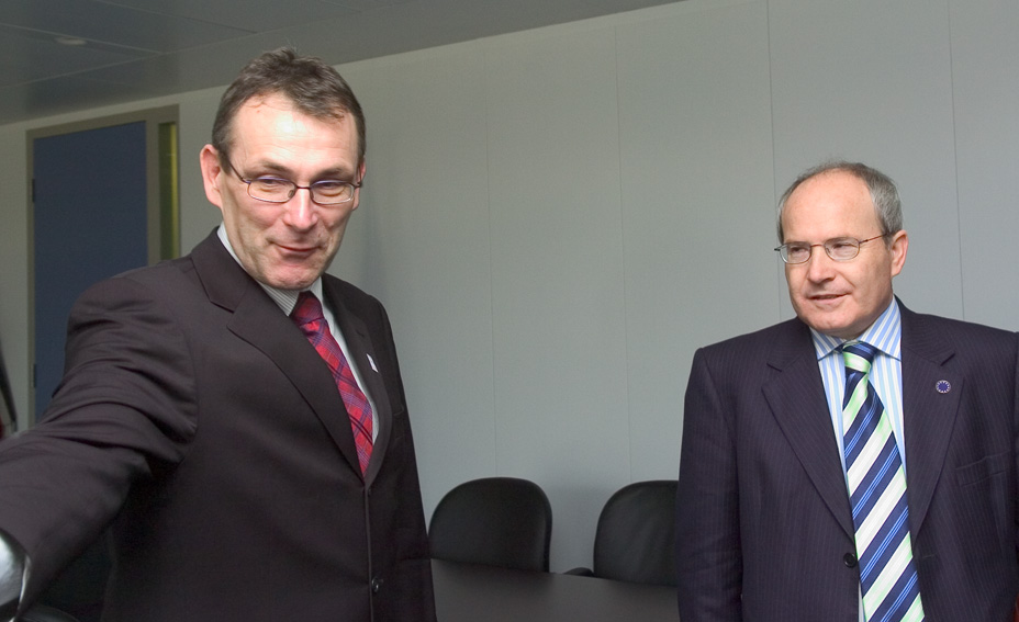 Visit of José Montilla Aguilera, Spanish Minister for Industry, Tourism and Trade, to the EC