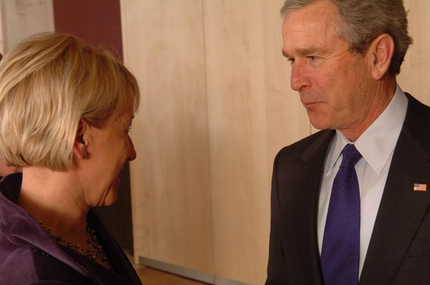 Visit of George W. Bush, President of the United States, to the EC