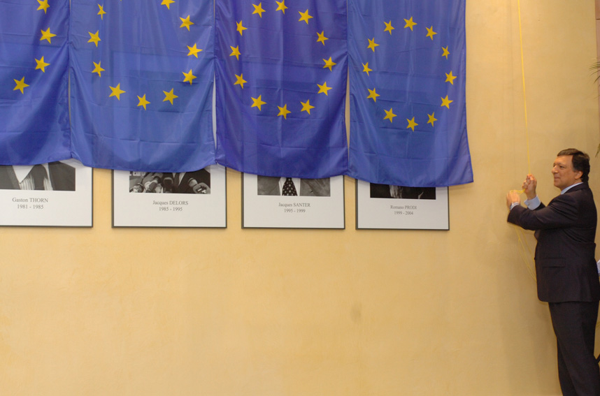 Inauguration of the portraits of former Presidents of the EC