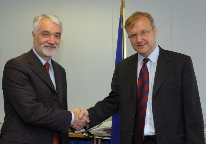 Visit of Miroljub Labus, Serbian Deputy Prime Minister, to the EC