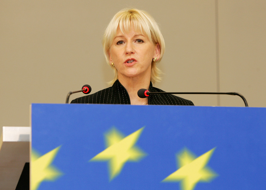 Press conference by Margot Wallström, Vice-President of the EC, on the Plan D (Democracy, Dialogue, Debate)