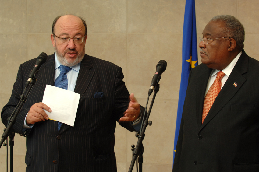 Visit by Gérard Latortue, Haitian Prime Minister, to the EC