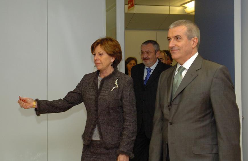 Visit by Călin Popescu-Tăriceanu, Romanian Prime Minister, to the EC