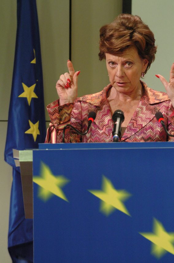 Press conference by Neelie Kroes, Member of the EC, on the Commission sector inquiry highlighting problems concerning payment cards industry