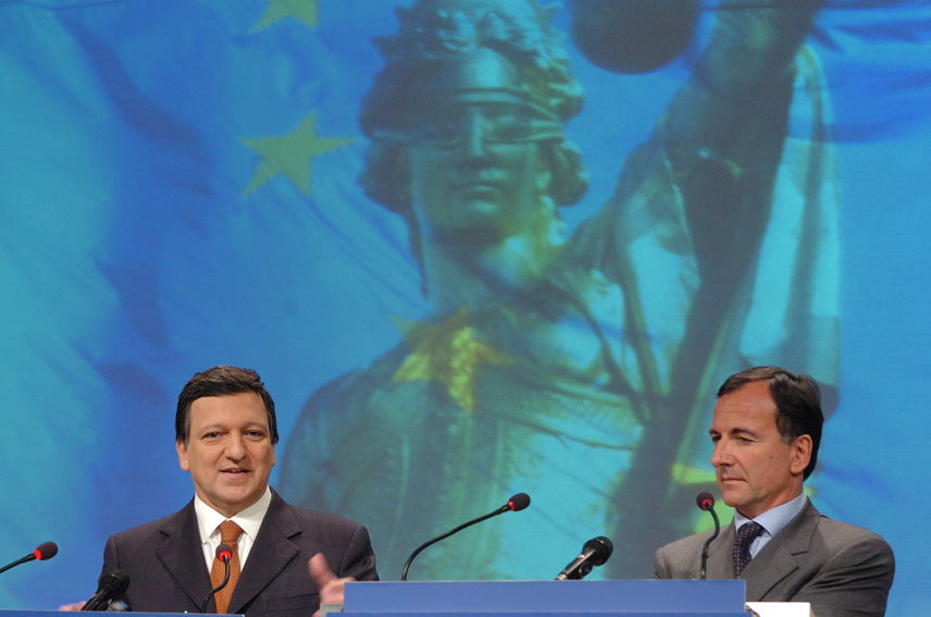 Press conference by José Manuel Barroso and Franco Frattini, President and Vice-president of the EC, on
