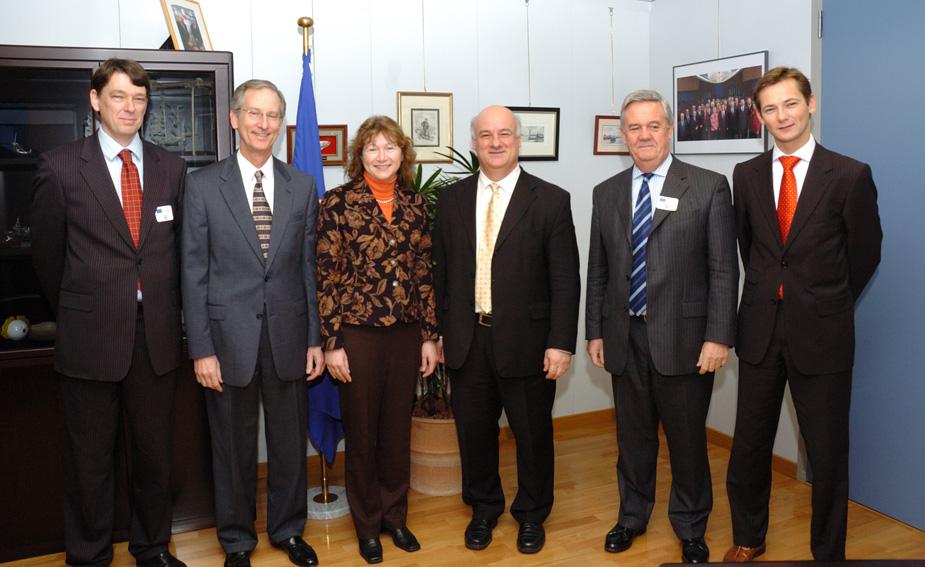Visite de membres de l'Association Internationale des Producteurs de Gaz et de Pétrole (OGP)