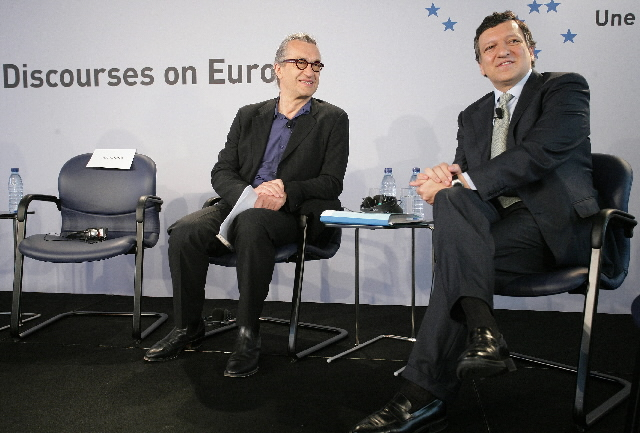 Participation of José Manuel Barroso, President of the EC, in the public debate