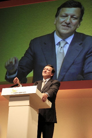 Participation of José Manuel Barroso in the annual Liberal Democrat Party Conference