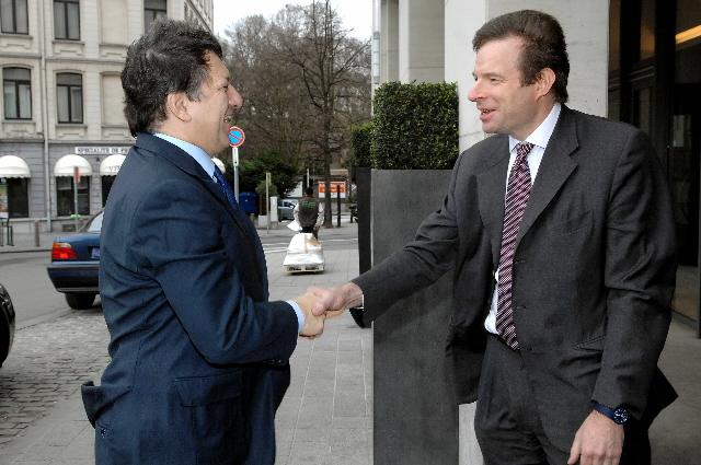 Participation de José Manuel Barroso au lancement du centre de la réforme de l'économie européenne