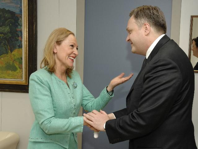 Visite de Guiorgui Baramidzé, vice-Premier ministre géorgien, à la CE
