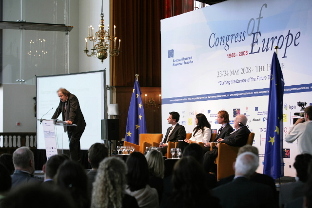 60th anniversary of the Congress of Europe of the European Movement