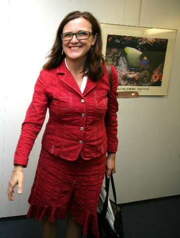 Visit of Cecilia Malmström, Swedish Minister for EU Affairs, to the EC