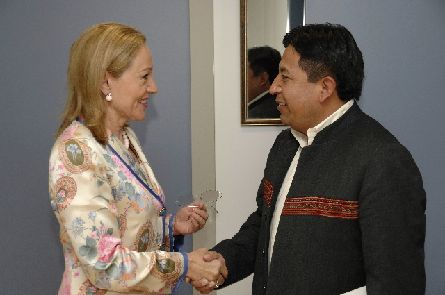 Visit by David Choquehuanca Céspedes, Bolivian Minister for External Relations and Worship, to the EC
