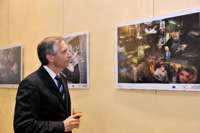 Awarding of the prizes of the Cultures on my street photography competition by Ján Figel', Member of the EC