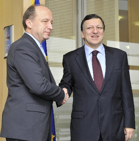 Visit of Andrius Kubilius, Lithuanian Prime Minister, to the EC