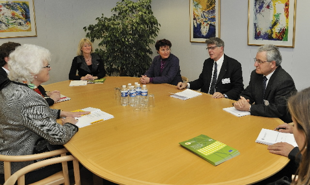 Visit of a delegation of the EGE to the EC