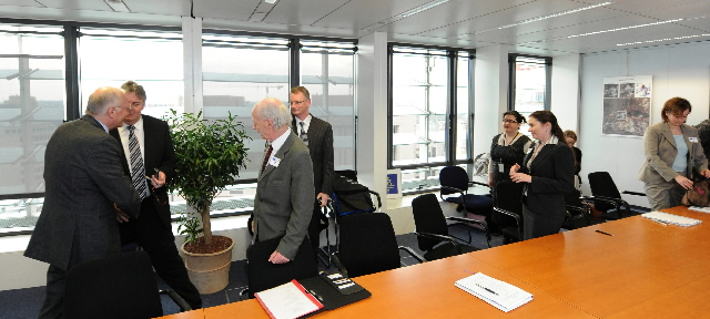 Visit of a delegation of leaders of Irish SMEs to the EC