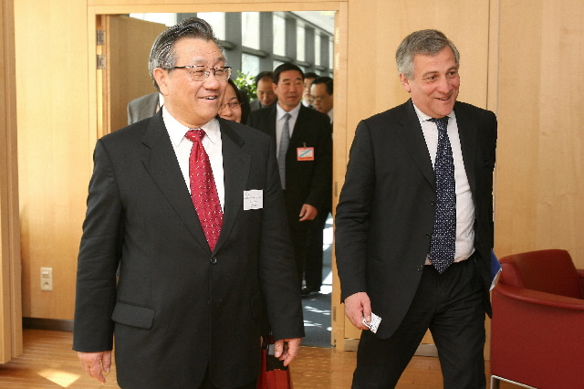 Visit of Li Shenglin, Chinese Minister for Transport, to the EC