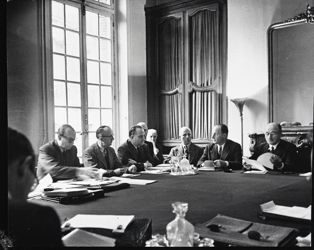 Negotiations of the ECSC Treaty