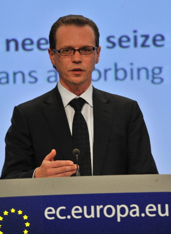 Press conference by Algirdas Šemeta, Member of the EC, on the EU budget 2008 Financial Report