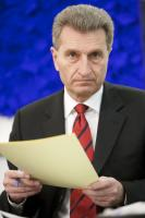 Günther Oettinger, Member designate of the EC