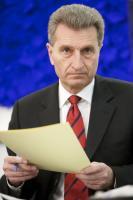 Günther Oettinger, membre désigné de la CE