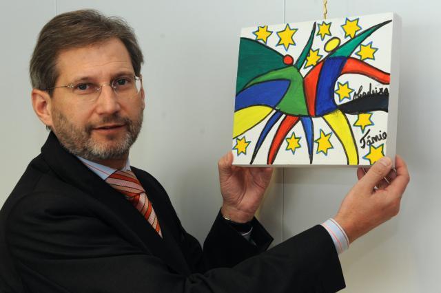 Johannes Hahn, membre de la CE