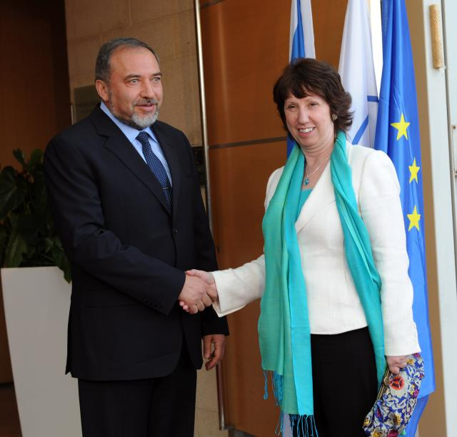 Visite de Catherine Ashton, haut représentant de l'Union pour les affaires étrangères et la politique de sécurité et vice-présidente de la CE, en Jordanie et en Israël