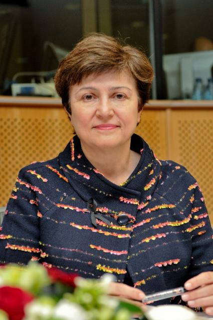 Participation of Kristalina Georgieva, Member of the EC, at the seminar on the EU and the UN Security Council Resolution 1325 on Women, Peace and Security