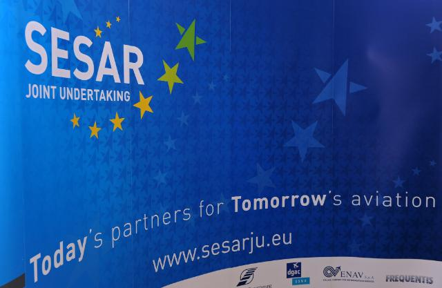 Visit of Siim Kallas, Vice-President of the EC, to the headquarters of the SESAR Joint Undertaking, in Brussels